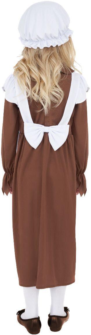 Arm victoriaans meisje outfit