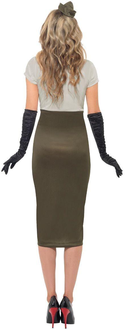 Army girl kostuum vrouw