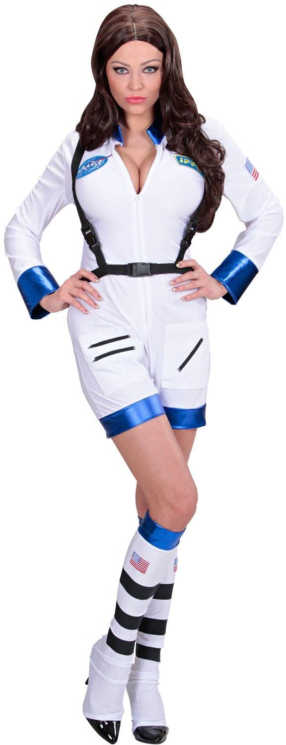 Astronauten kostuum vrouw