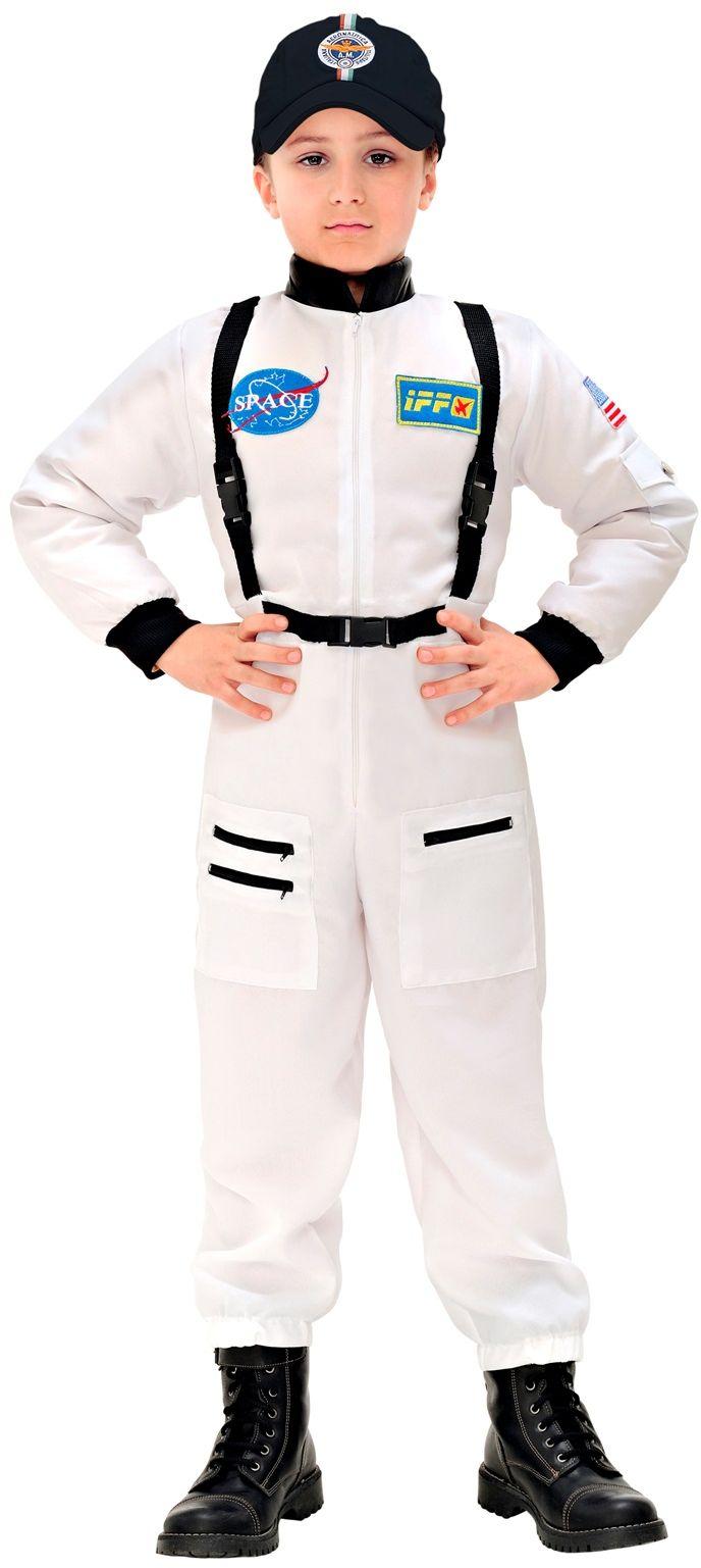 Astronautenpak kind wit
