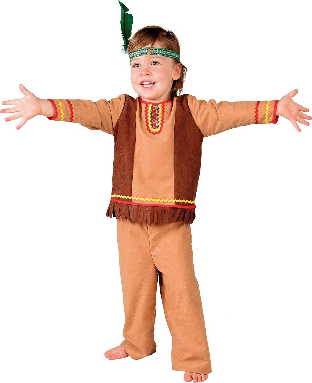Baby kostuum indiaan