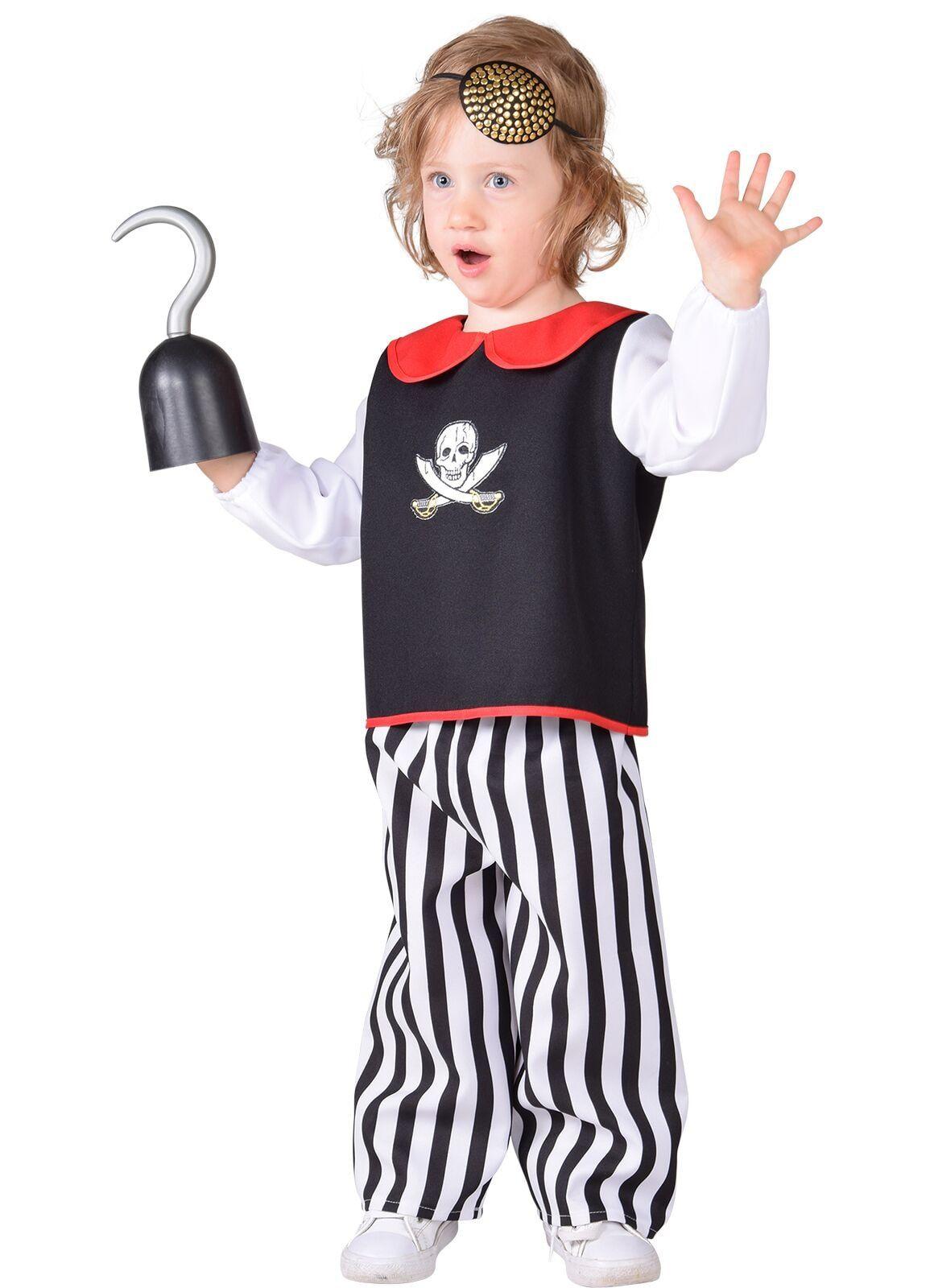Baby kostuum piraat