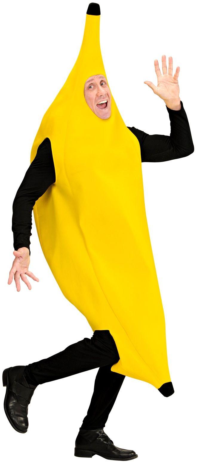 Bananen kostuum volwassenen
