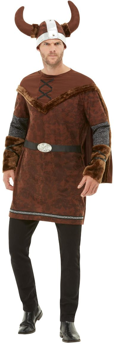 Barbaarse mannen viking outfit
