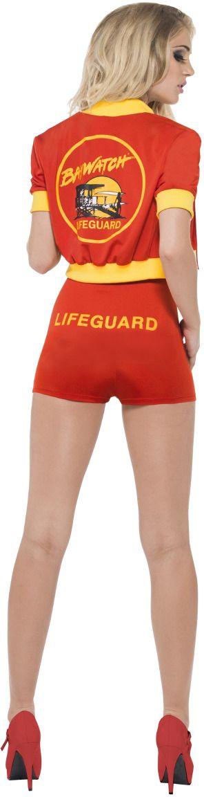 Baywatch strandwacht dames kostuum