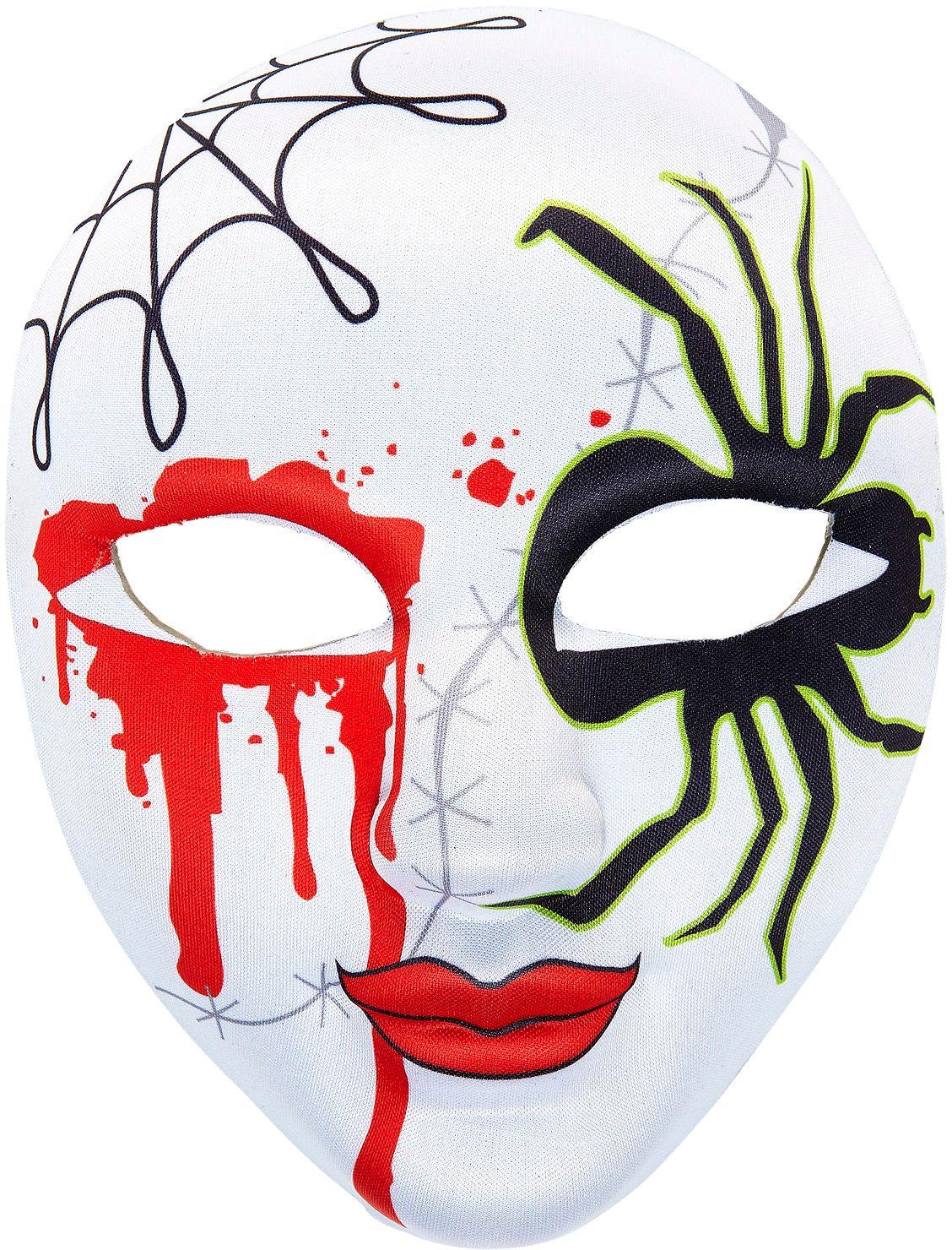 Bebloed gezichtsmasker spin