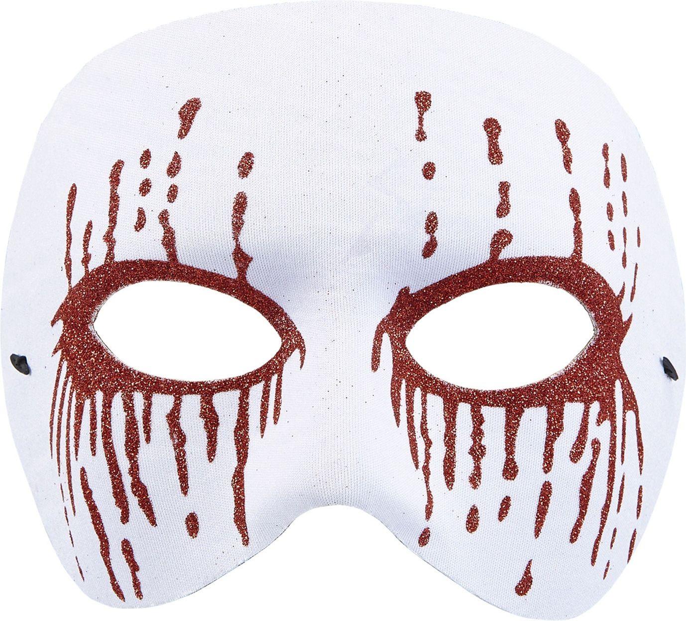Bebloed oogmasker