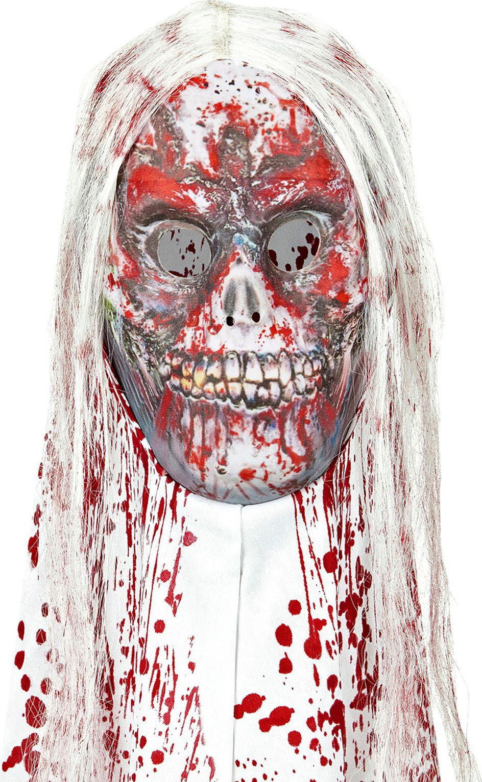 Bebloed zombie masker