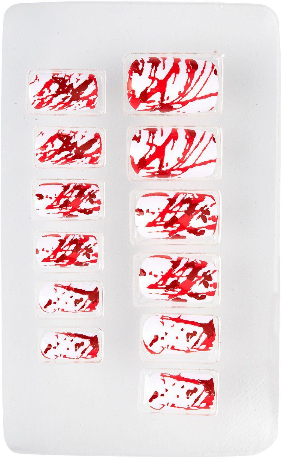 Bebloede nagels