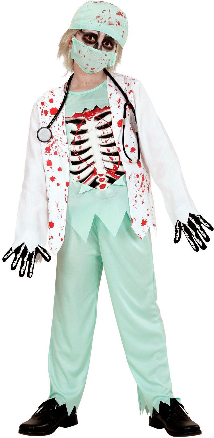 Bebloede zombie doctor
