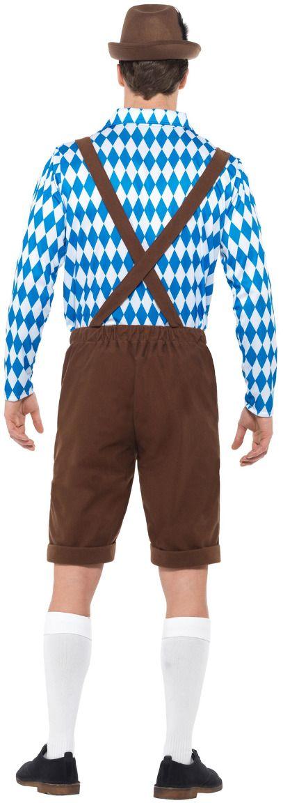 Beierse bier mannen outfit