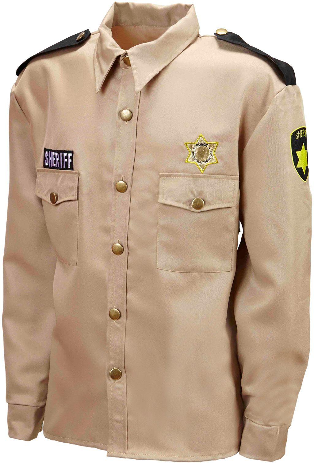 Beige Sheriff blouse