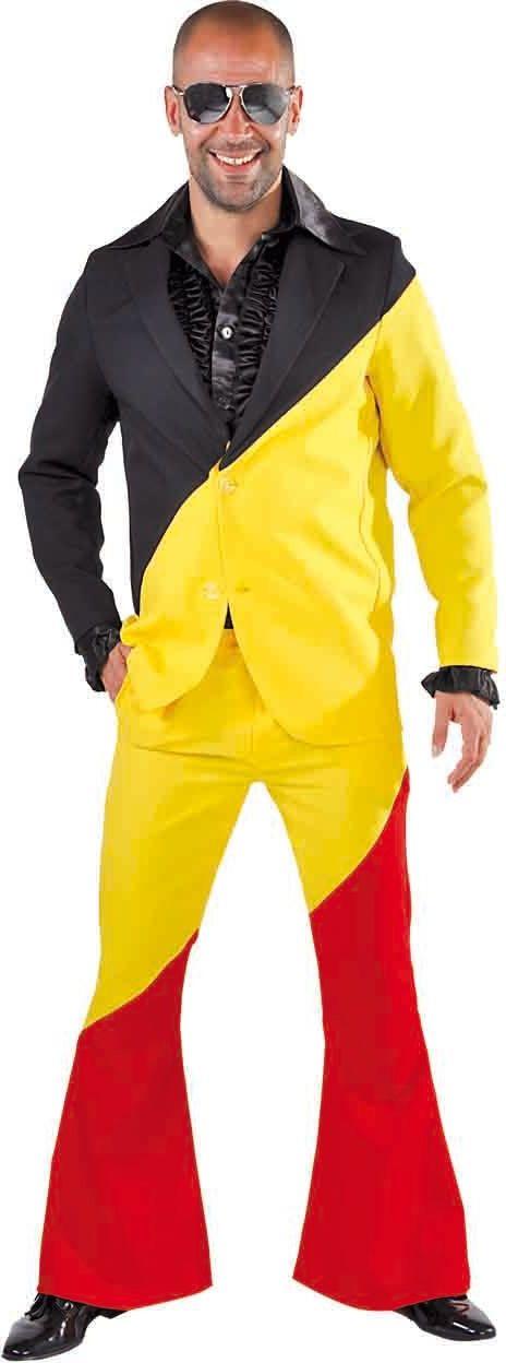 België kostuum man