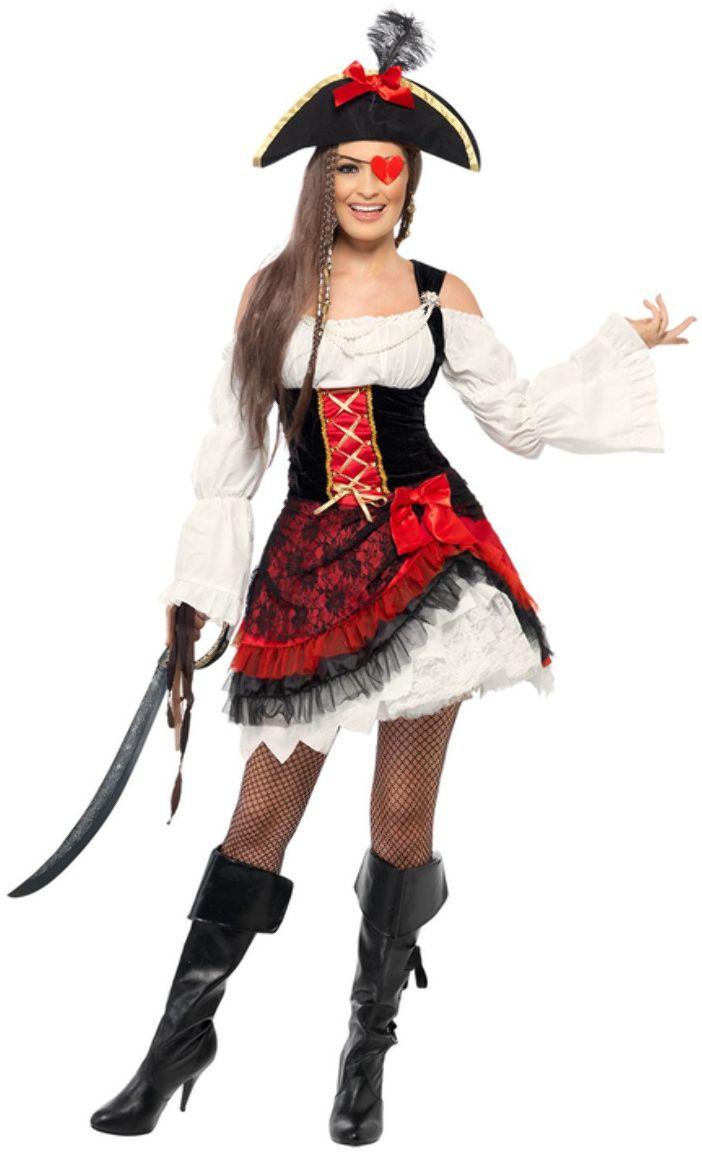 Betoverende piraat outfit