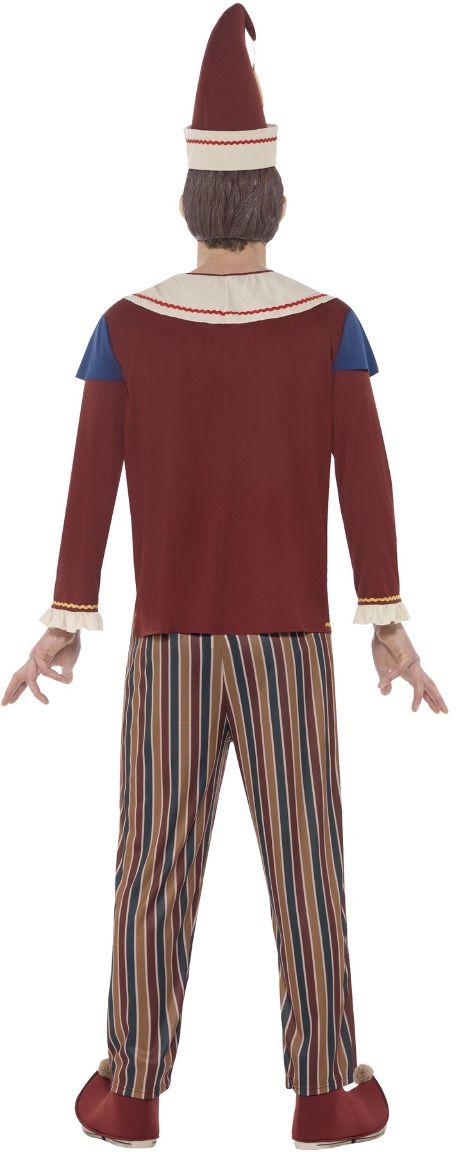 Bezeten pop kostuum