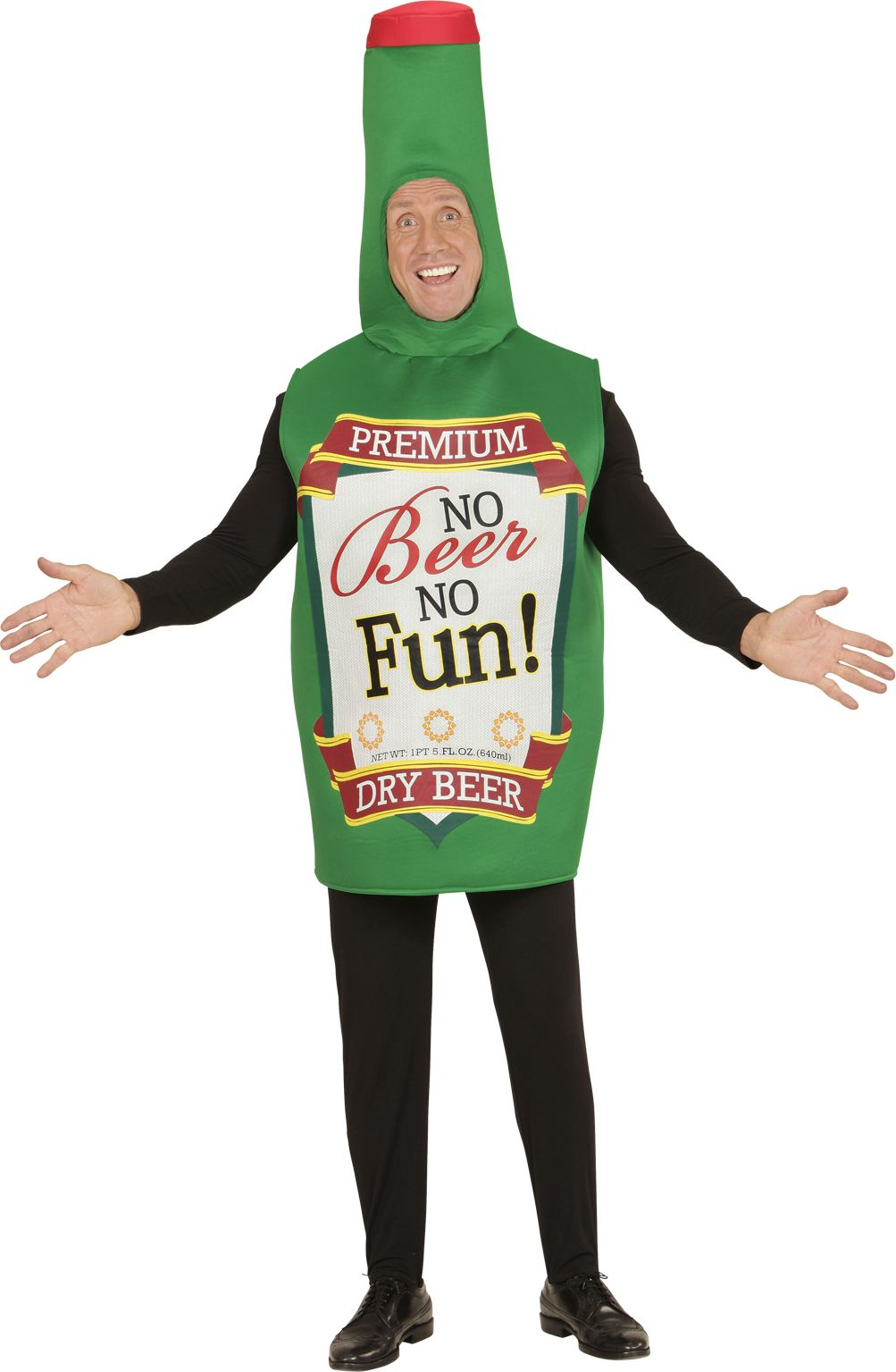 Bierfles kostuum