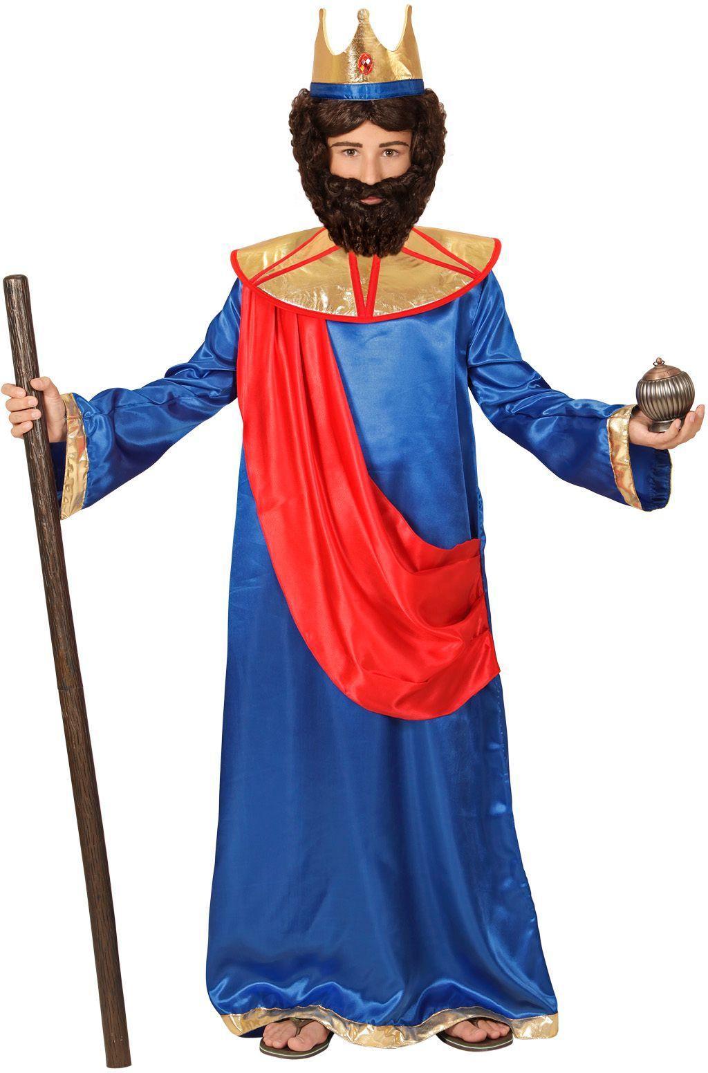 Bijbel koning kostuum kind