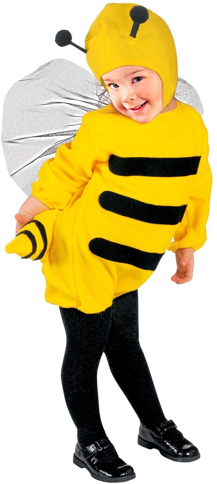 Bijen kostuum kind