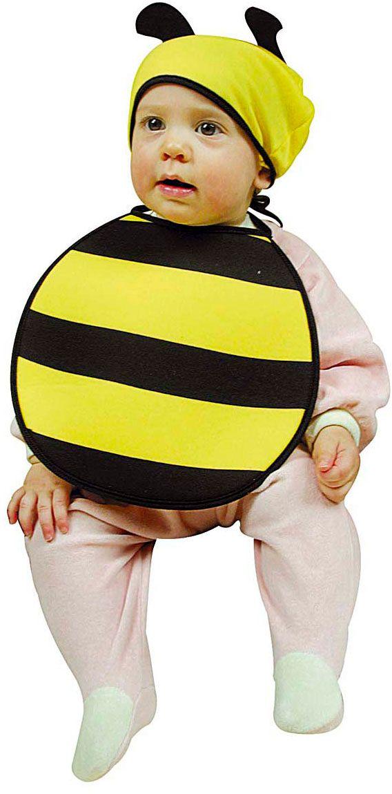 Bijen slabbetje en muts