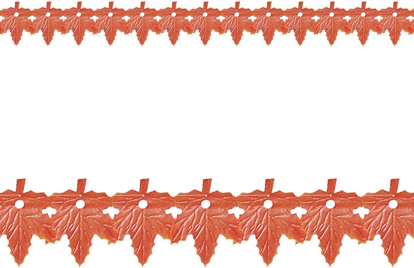 Bladeren slingerkrans