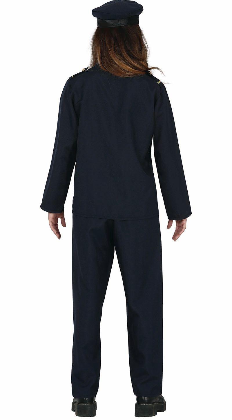 Blauw politiepak kind