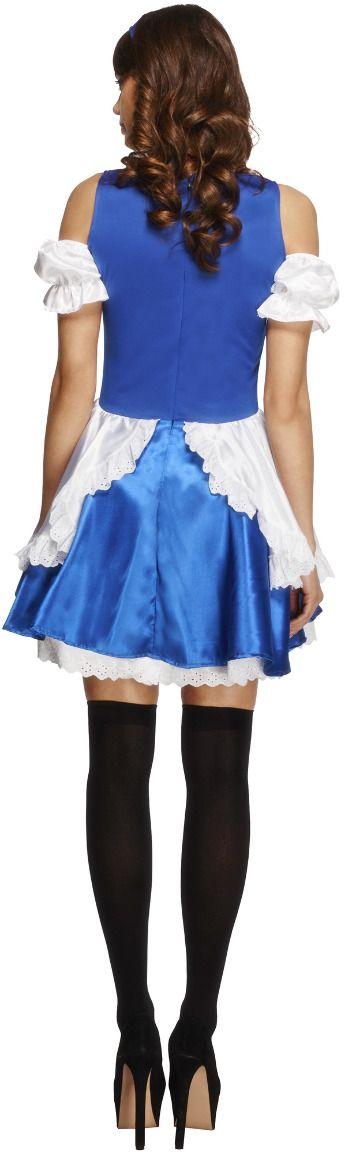 Blauw wit Alice jurkje