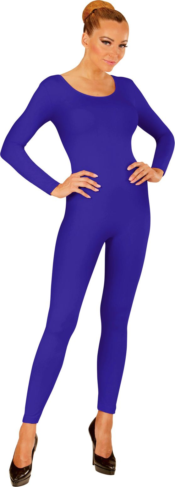 Blauwe bodysuit
