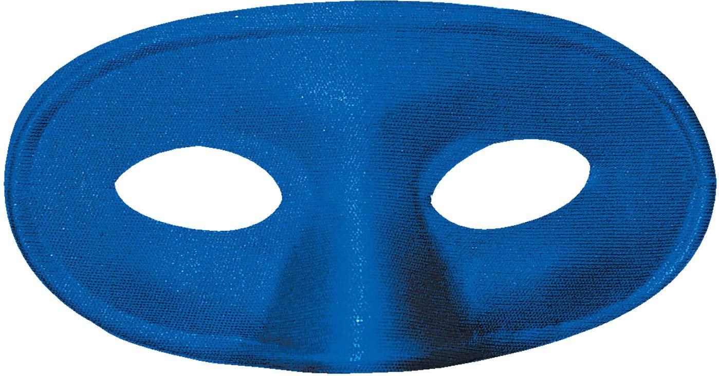 Blauwe mascherina oogmasker