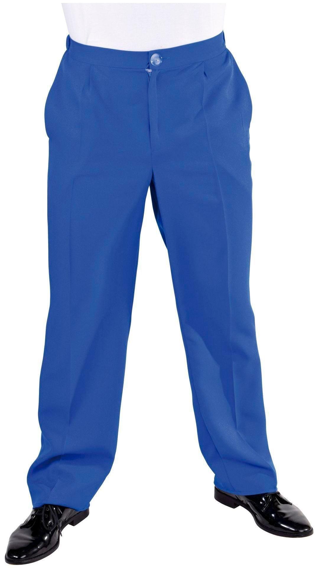 Blauwe pantalon heren