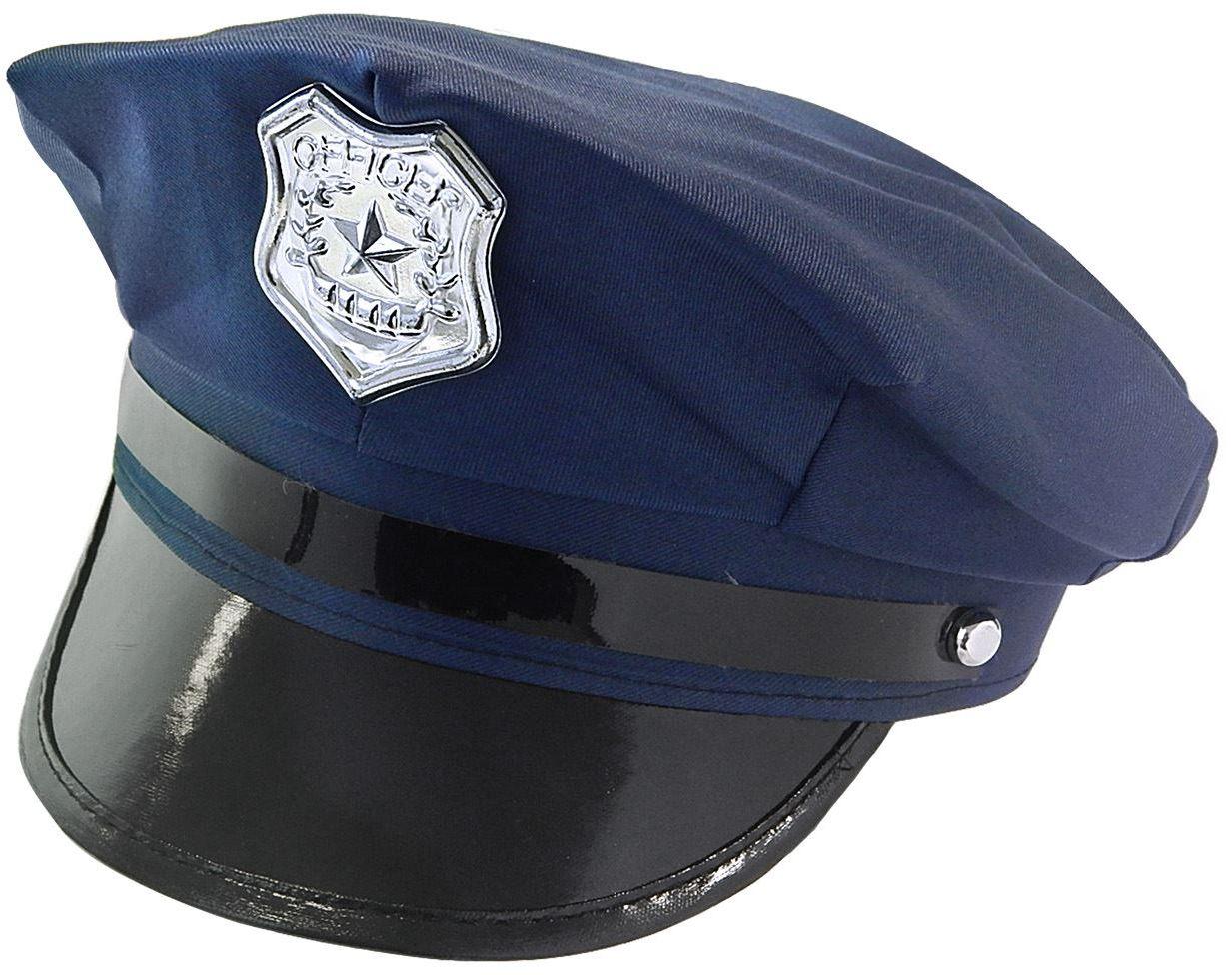 Blauwe politieman pet