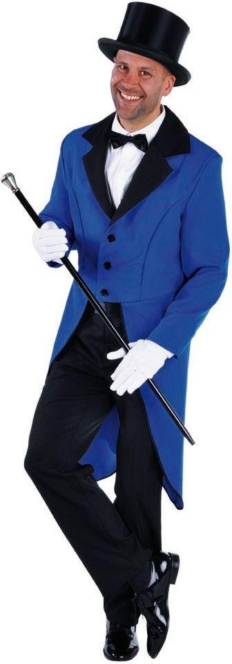 Blauwe slipjas heren