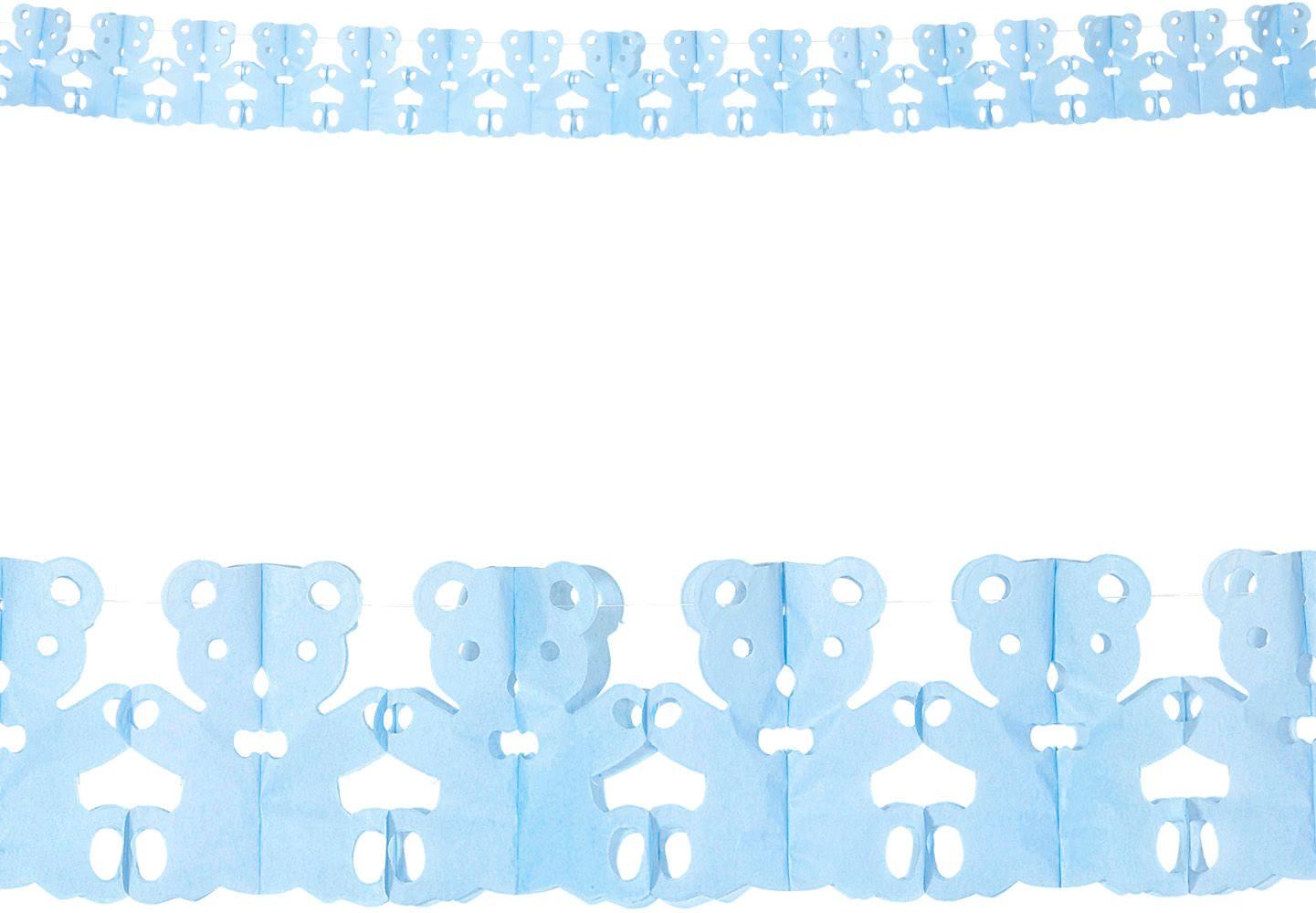 Blauwe teddy beer slingers