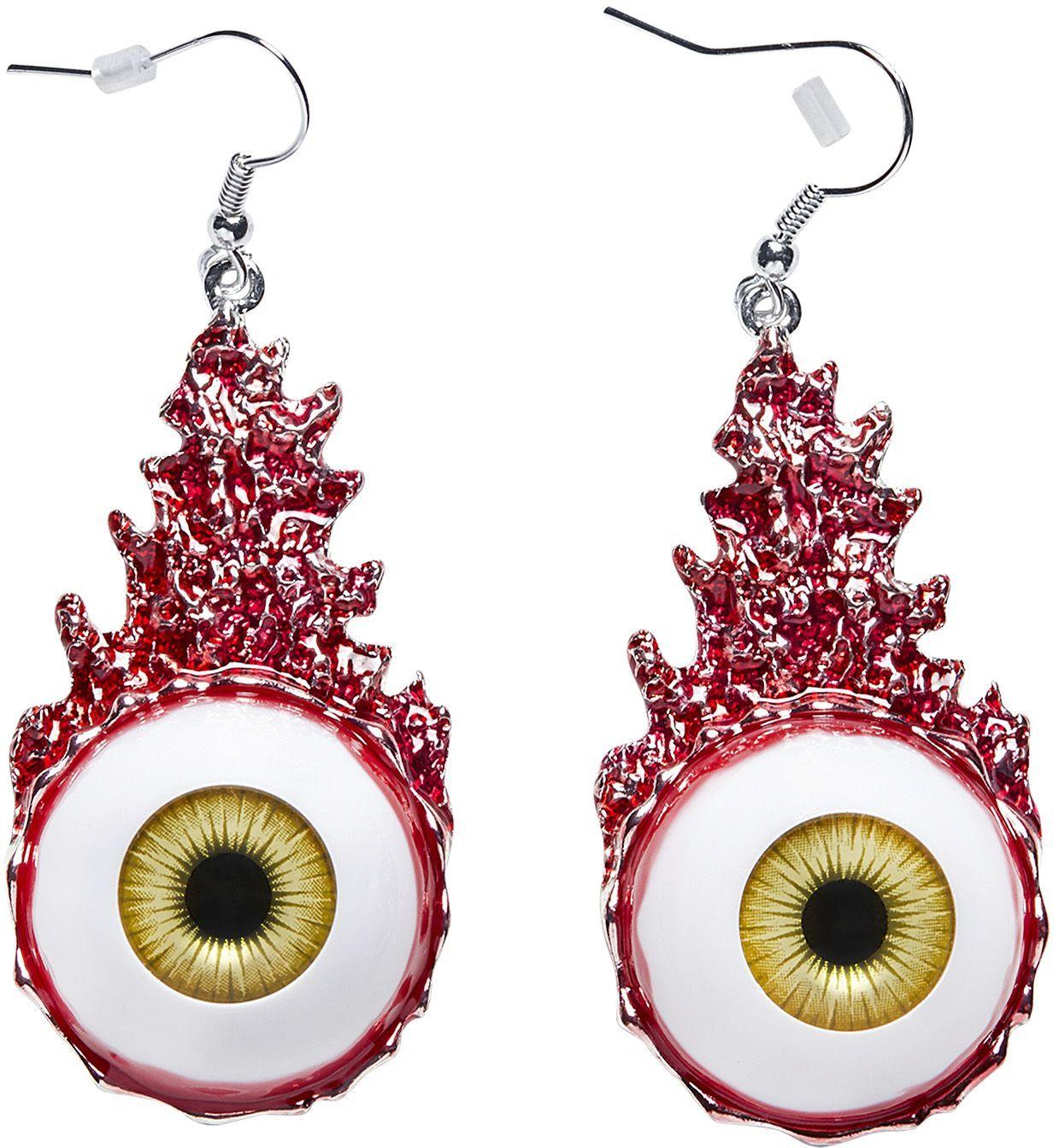 Bloed oog oorbellen dames