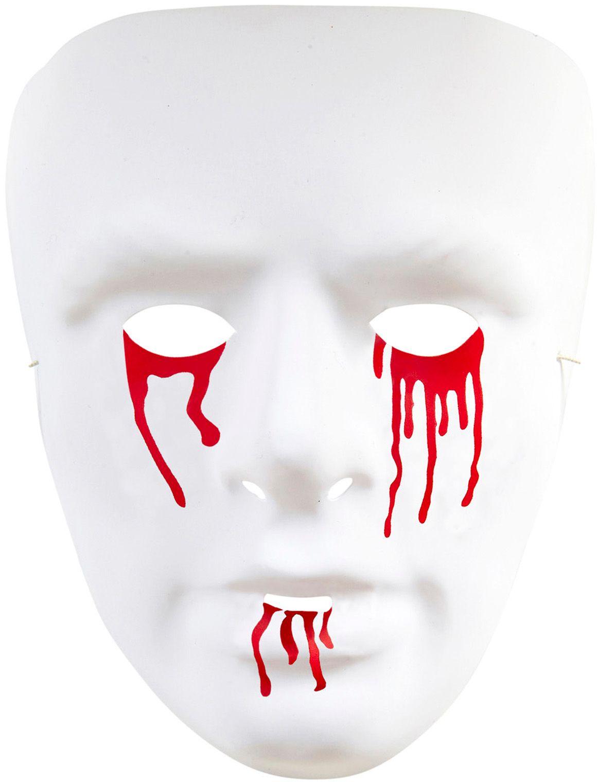 Bloedende ogen en mond masker