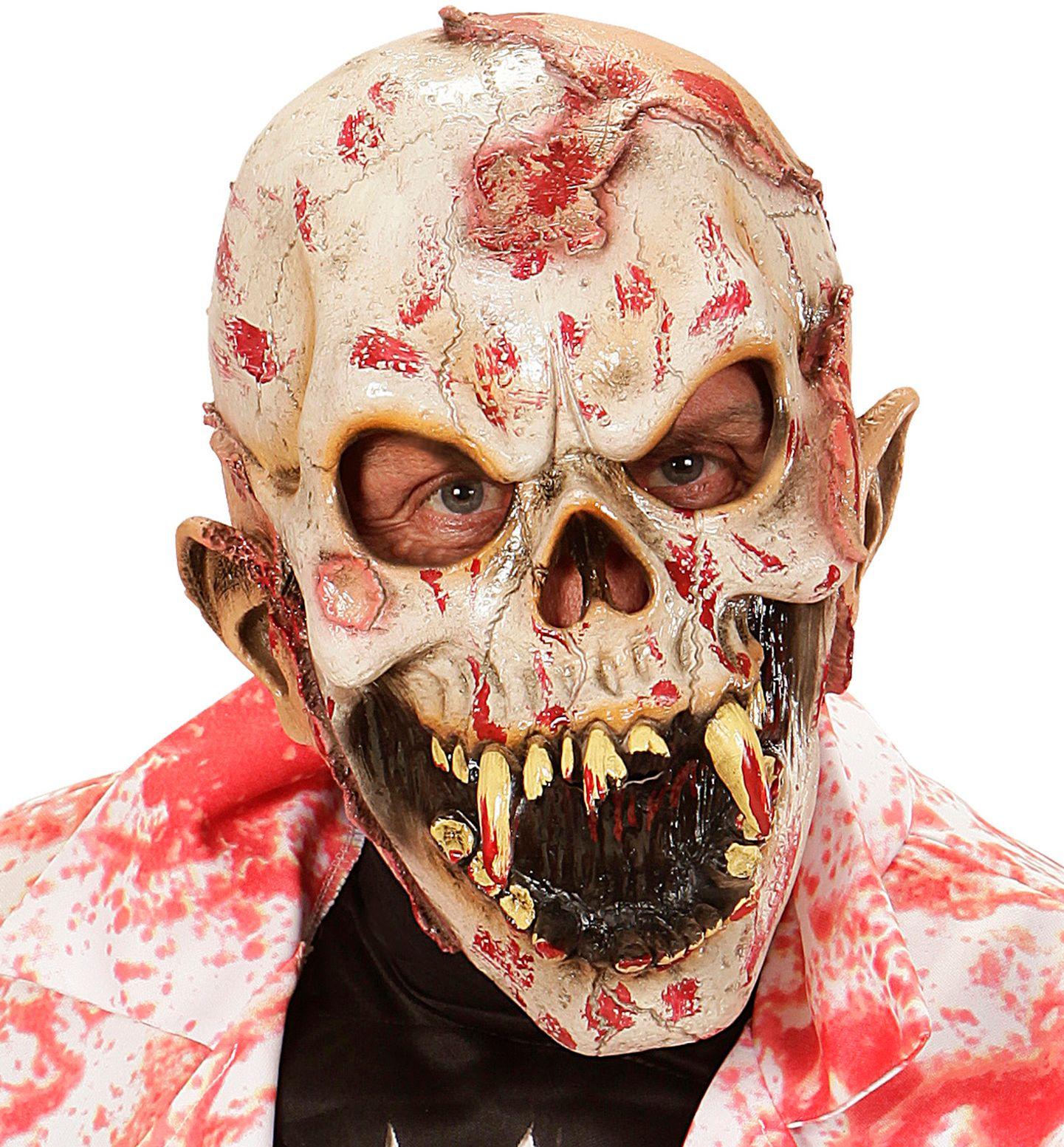 Bloederig mensen eter masker
