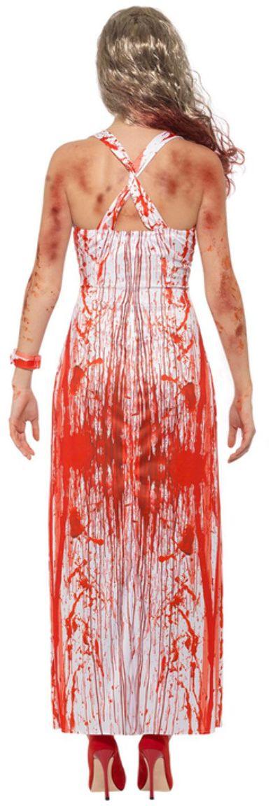 Bloederige bal koningin outfit