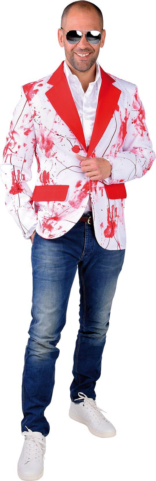 Bloederige colbert mannen