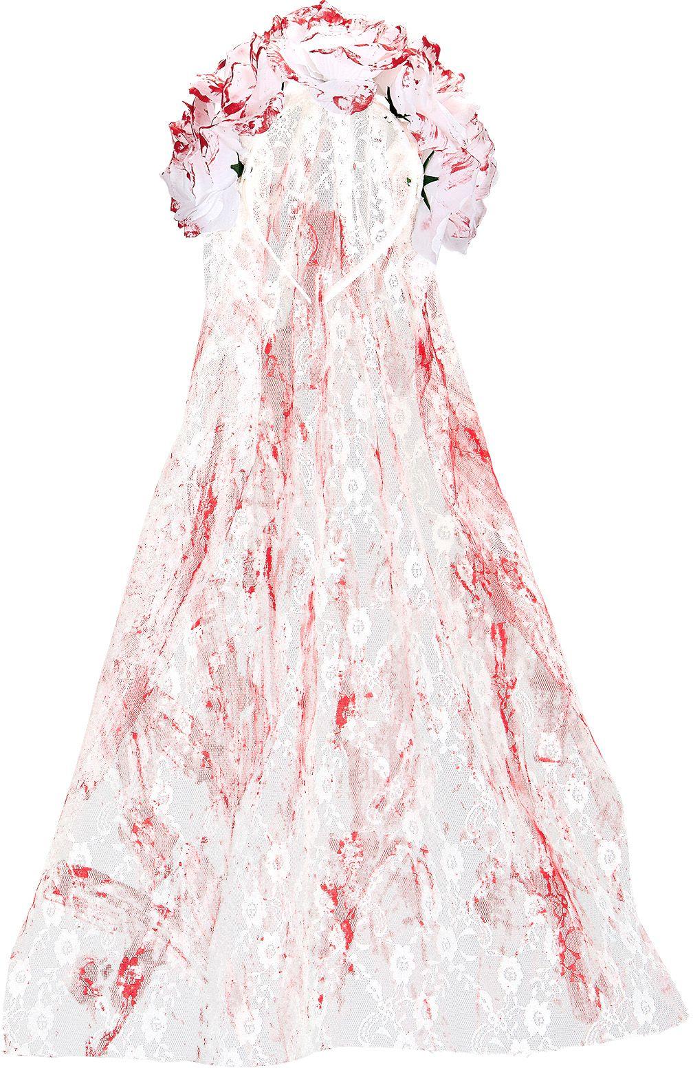Bloederige horror bruid sluier