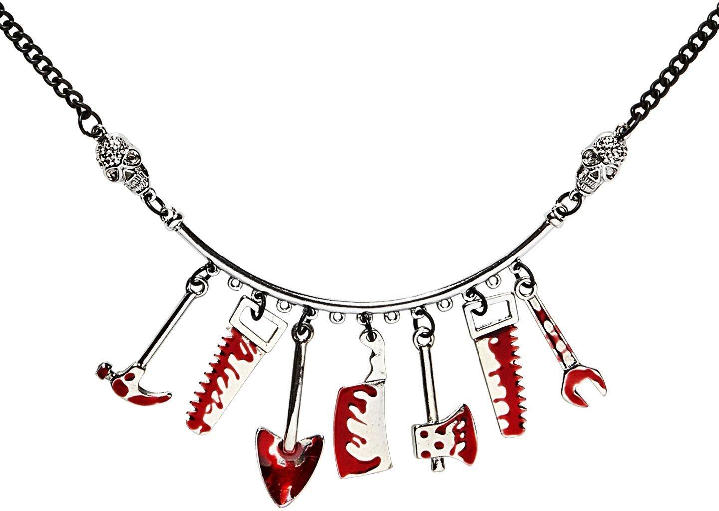 Bloederige psychopaat ketting