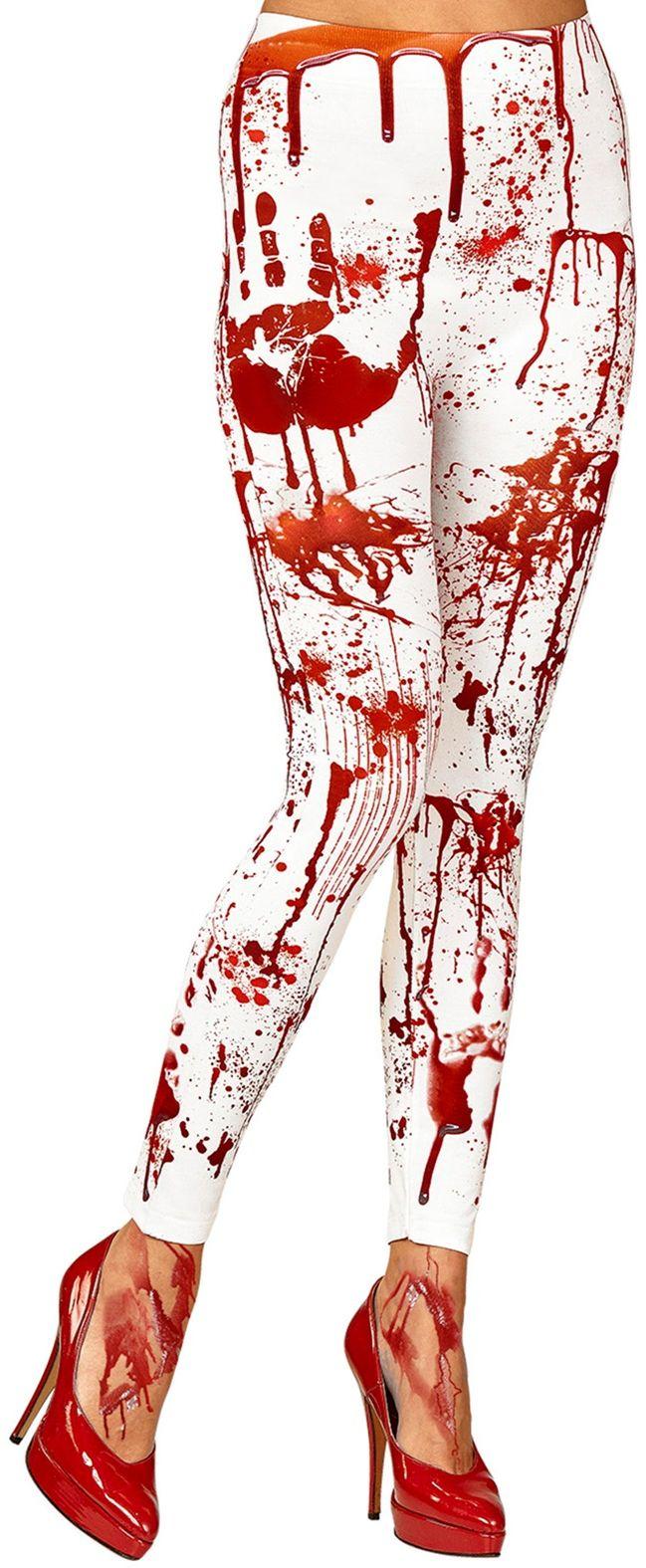 Bloederige zombie legging