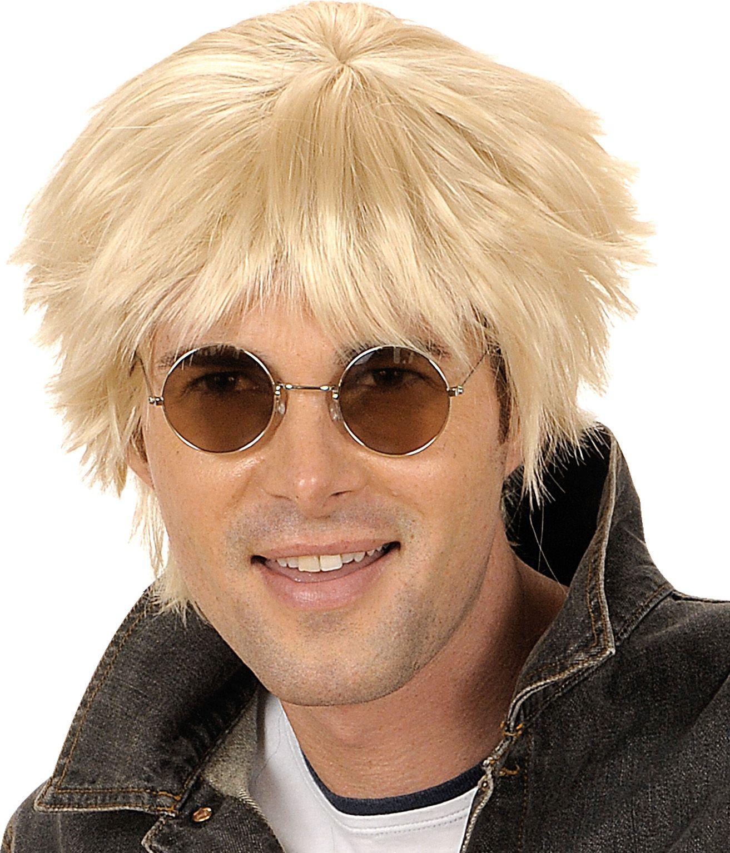 Blonde Beatles pruik