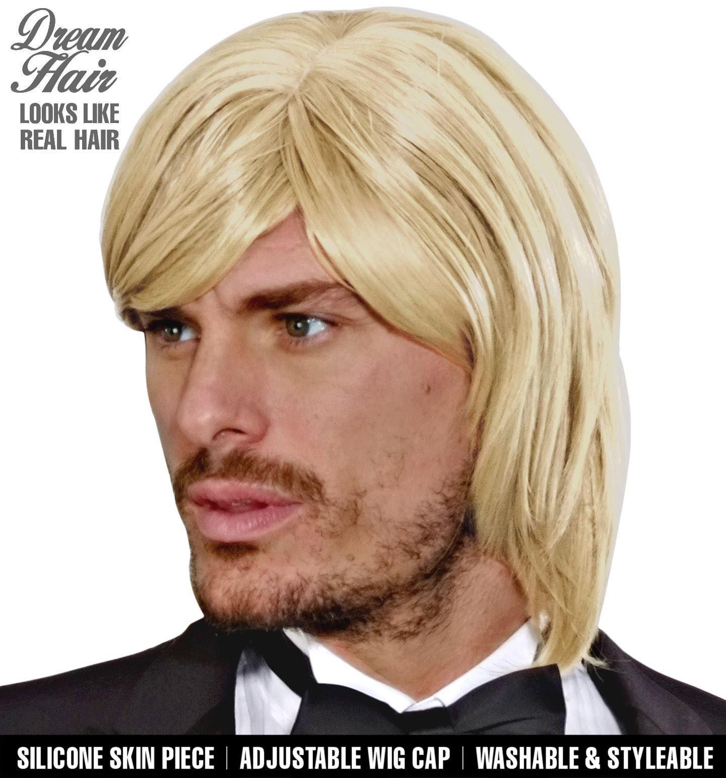 Blonde bjorn pruik