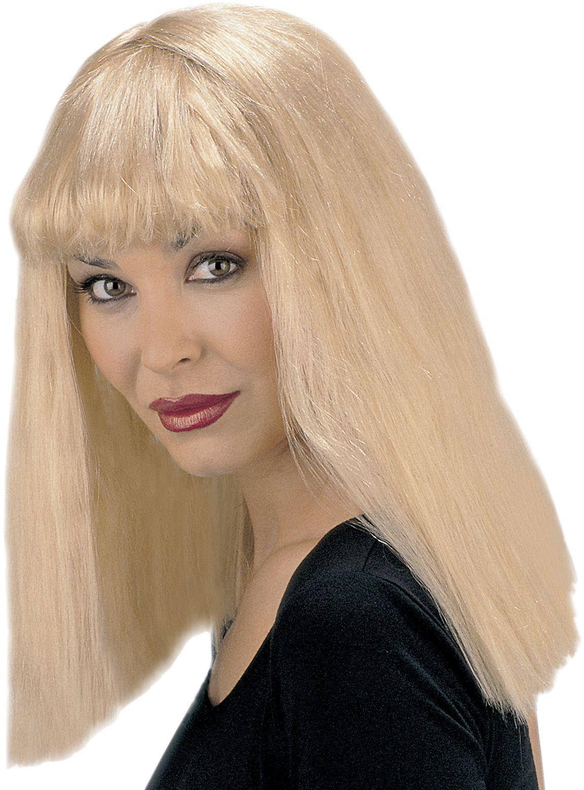 Blonde Fanny pruik