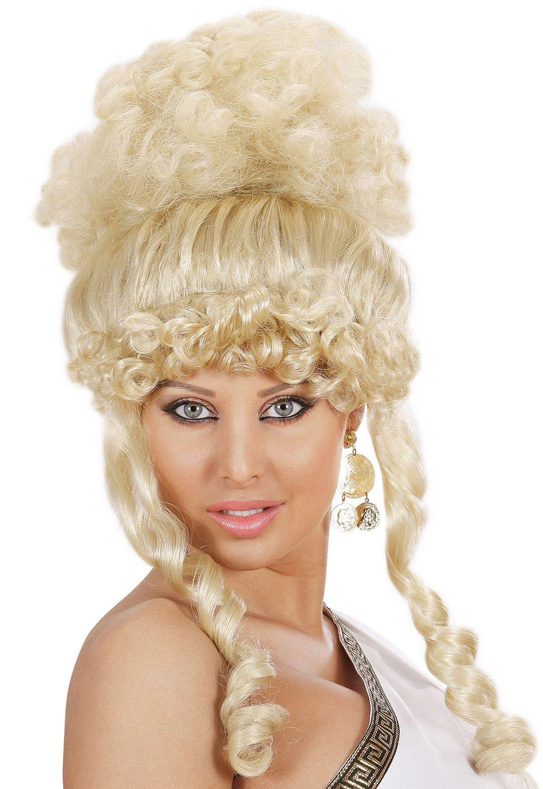 Blonde griekse godin pruik