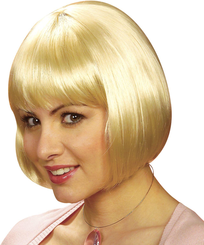 Blonde Michelle pruik