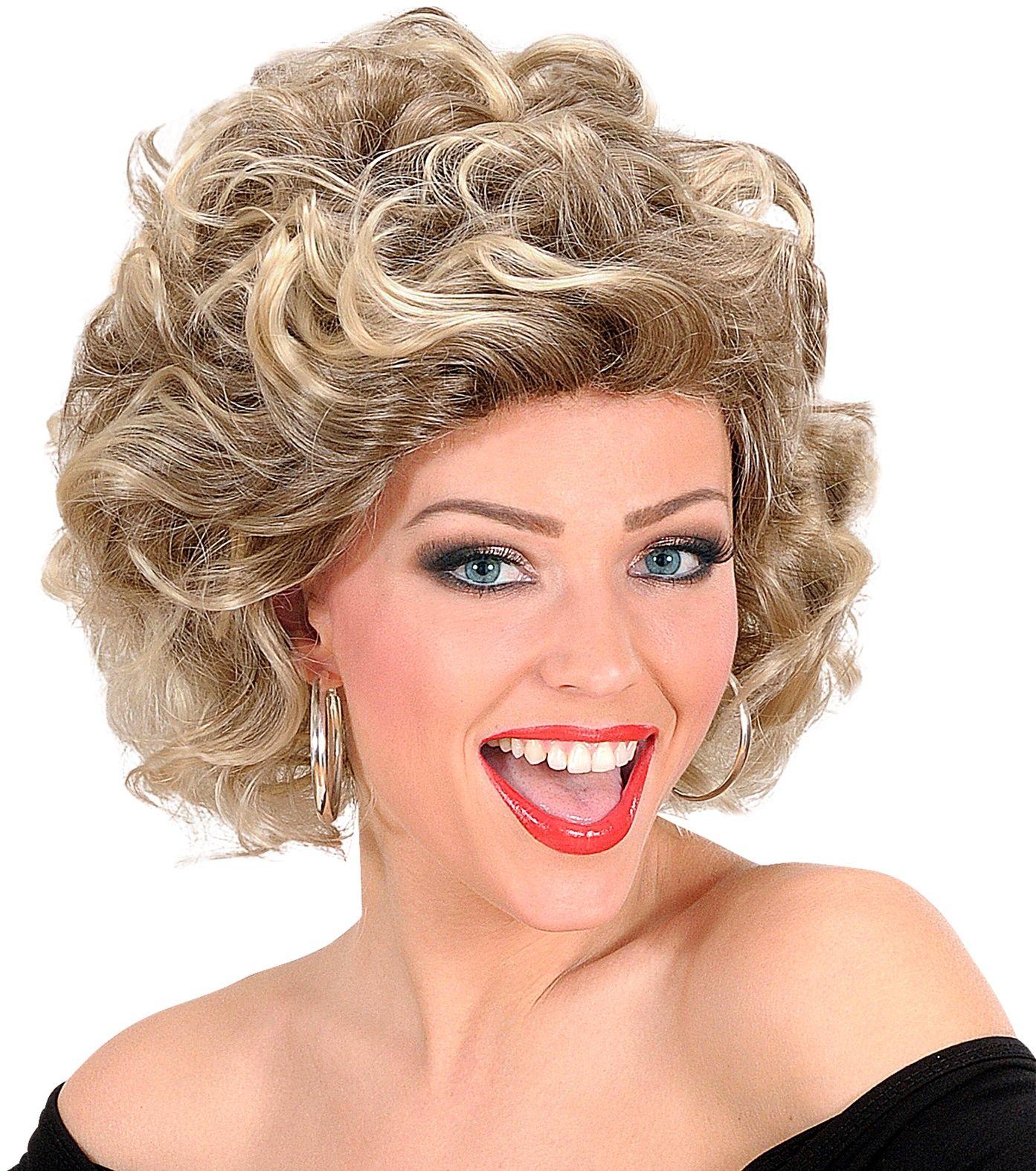 Blonde Olivia pruik