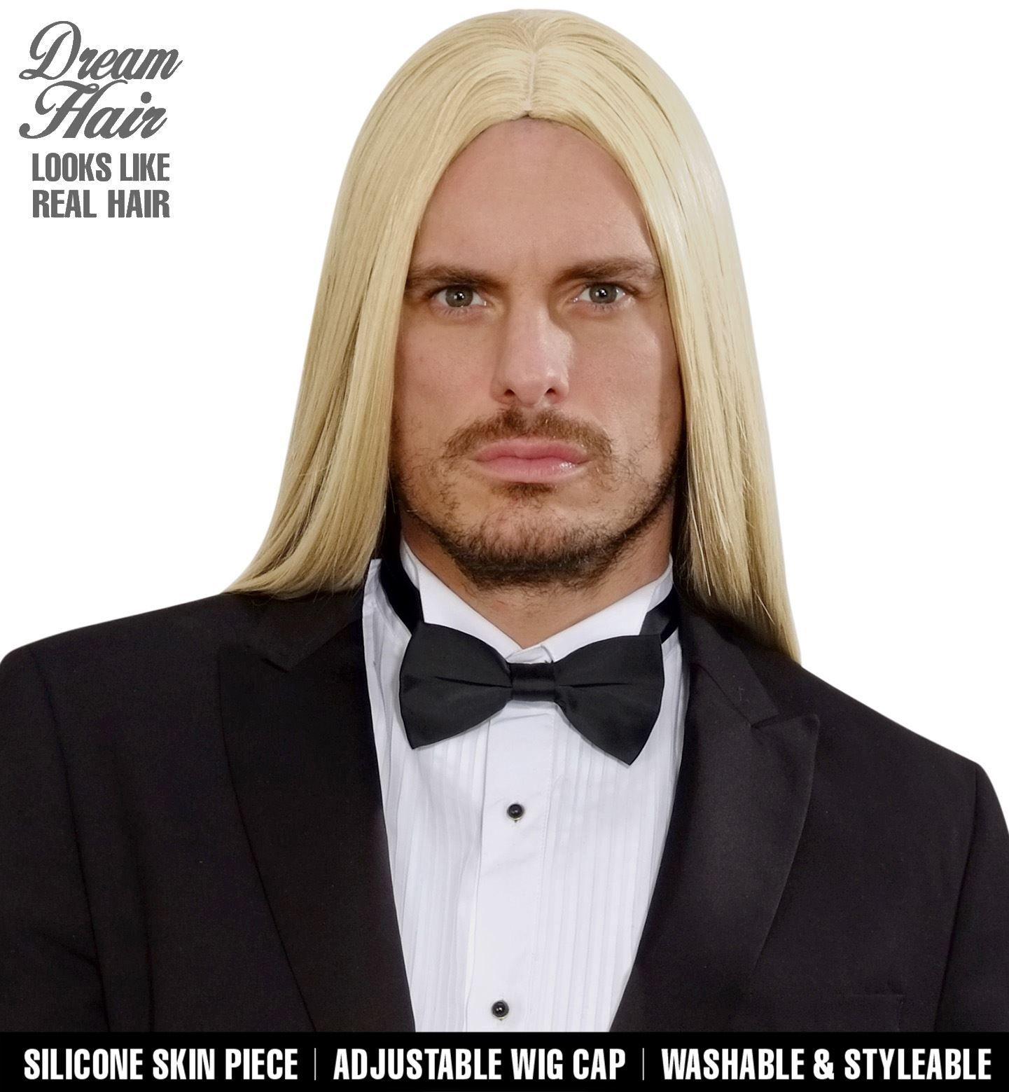 Blonde victor pruik