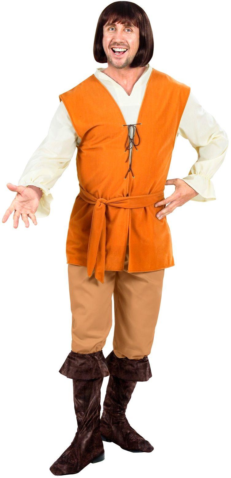 Boer Middeleeuwen Kostuum