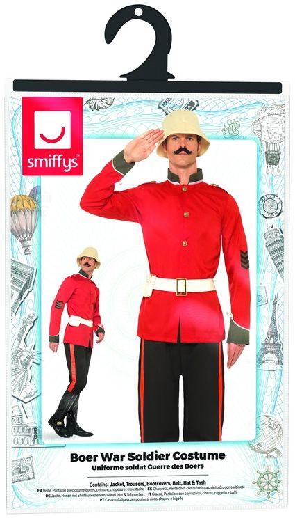 Boerenoorlog soldaten kostuum