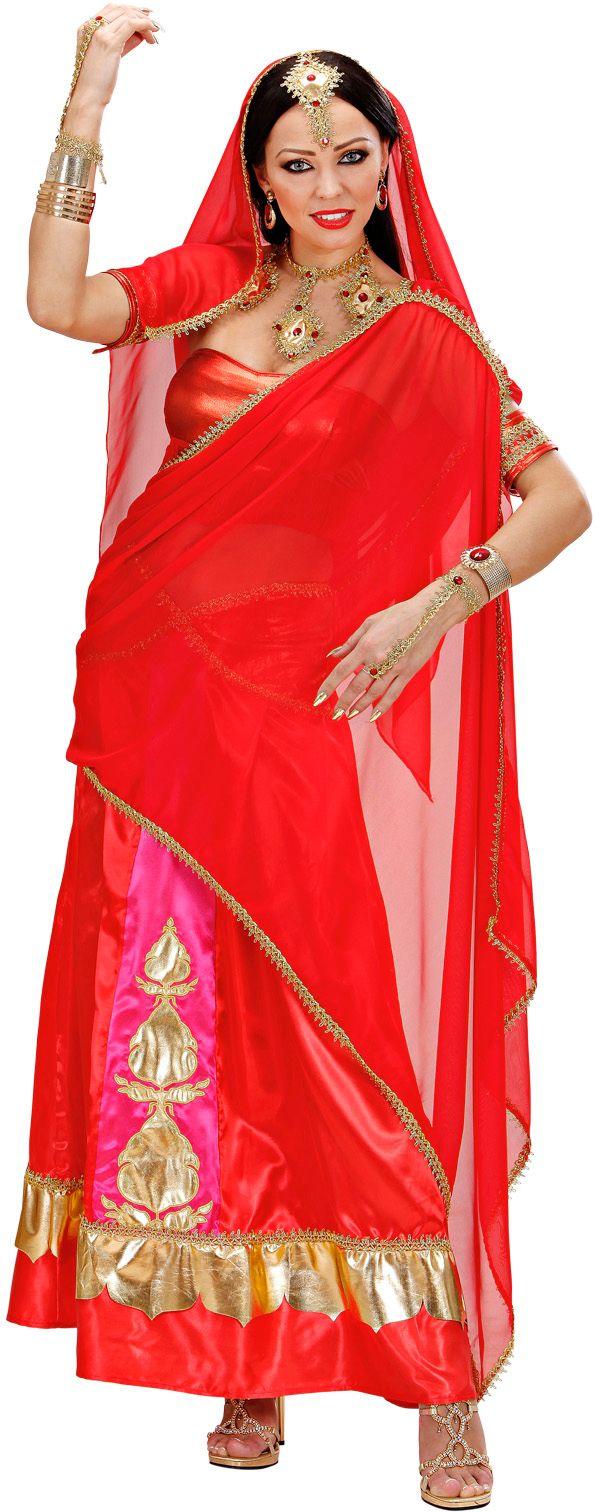 Bollywood diva kostuum